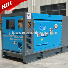 AC three phase 25kva water cooled diesel generator set